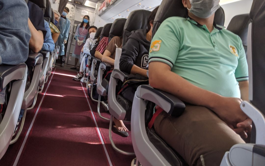 Traveling on Domestic Flights in Thailand During Covid19